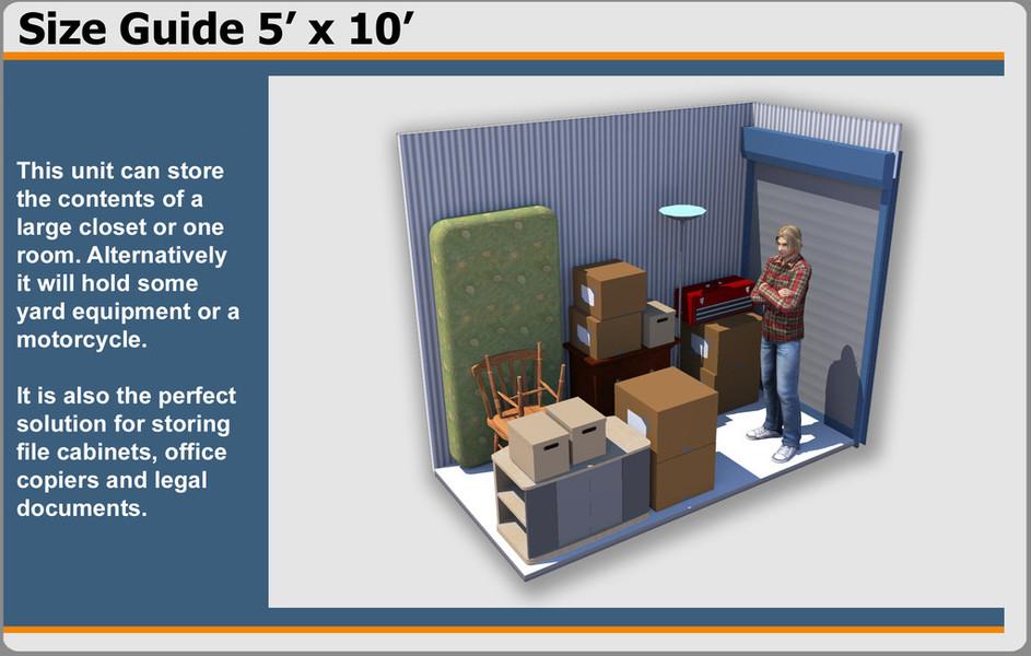sc 1 st  Fianna Hills Storage & 5u0027 x 10u0027 Storage Unit - Fianna Hills Storage
